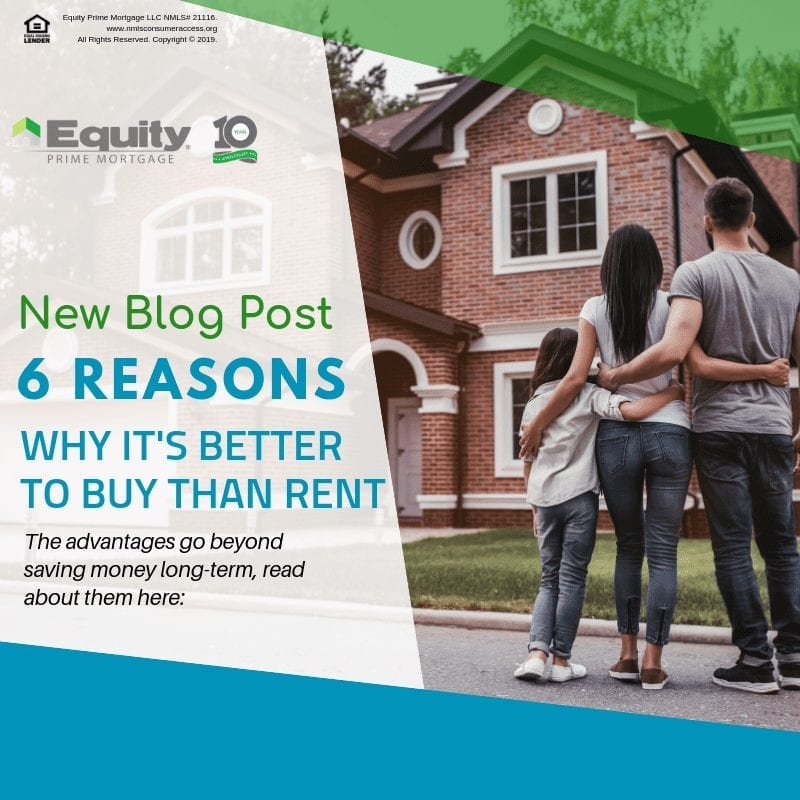 6 Reasons Why It's Better to Buy Than Rent